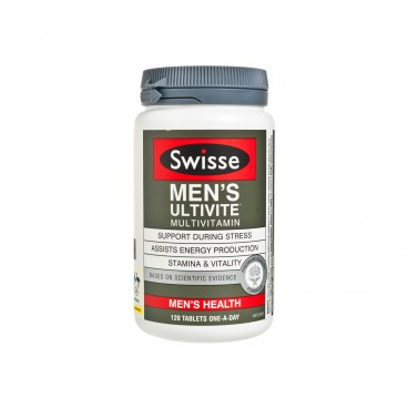 SWISSE(PARALLEL IMPORT) - Mens Ultivite Multivitamin - 120'S