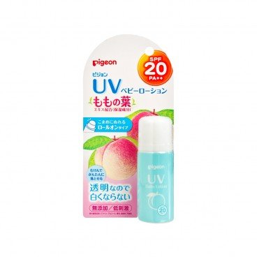 PIGEON Leaf Of The Peach Uv Baby Lotion Roll on Spf 20 Pa 25G