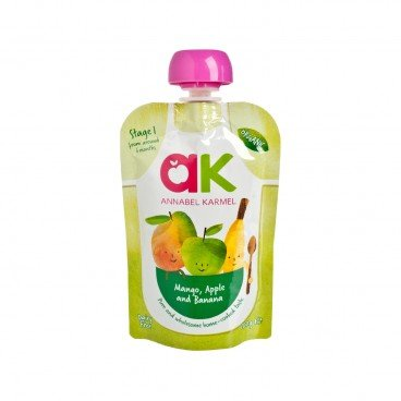 ANNABEL KARMEL Organic Mango Apple Banana 100G
