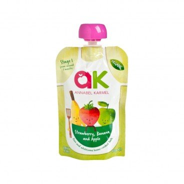ANNABEL KARMEL Organic Strawberry Banana Apple 100G