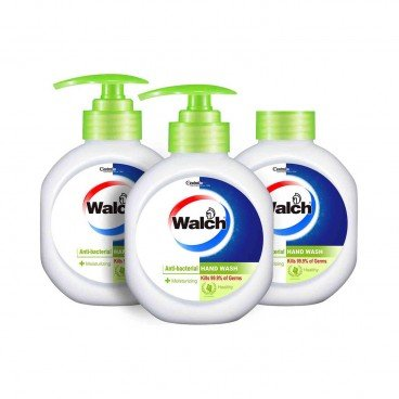 WALCH - Antibacterial Hand Wash moisturizing Twinpack With Refill - 525MLX3