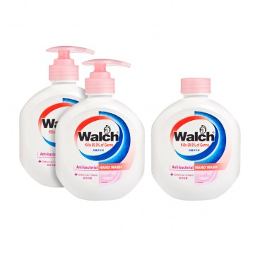 WALCH Antibacterial Hand Wash sensitive Value Pack 525MLX3