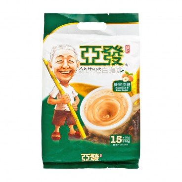 AH HUAT White Coffee Hazelnut Instant 38GX15