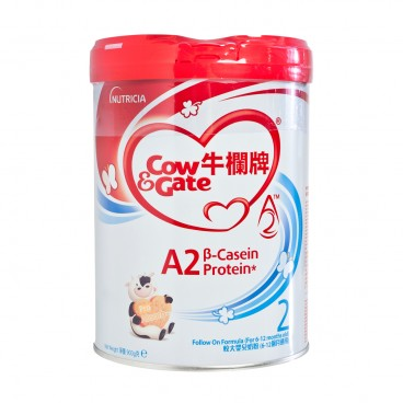 COW & GATE - A 2 Β Casein Protein Follow On Formula 2 - 900G