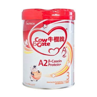 COW & GATE A 2 Β Casein Protein Growing Up Formula 3 900G