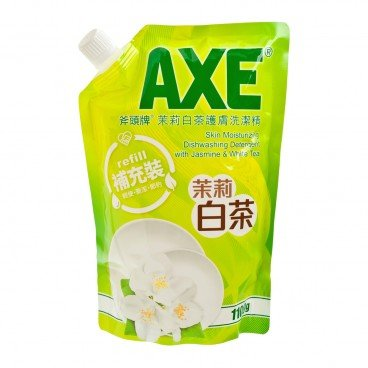 AXE Moisturing Dishwashing Detergent With Jasmine White Tea Pouch 1.1KG