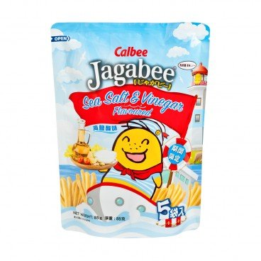 CALBEE Jagabee Potato Chips salt Vinegar 17GX5