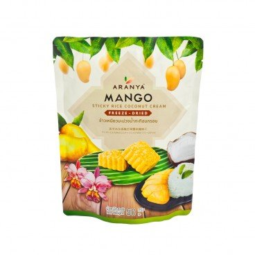 ARANYA Mango Sticky Rice Coconut Cream Freeze Dried 50G