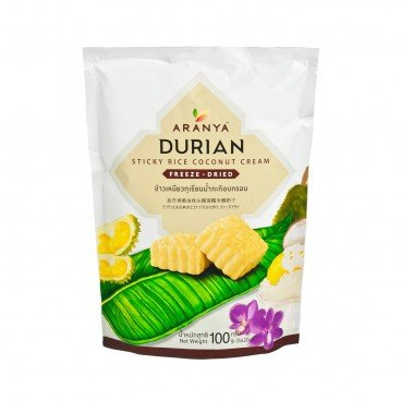ARANYA Durian Sticky Rice Coconut Cream Freeze Dried 100G