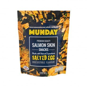 MUNDAY - Salted Egg Salmon Skin - 90G