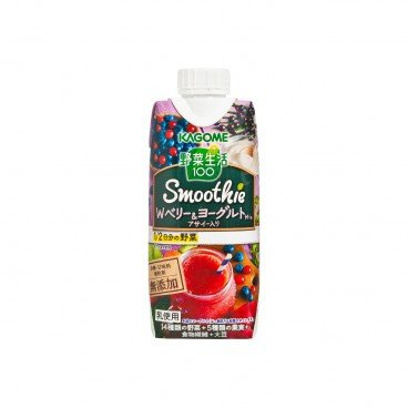 KAGOME - Yogurt Mixed Berry Vegetable Smoothie - 330ML