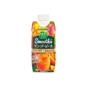 KAGOME - Mango Peach Mixed Smoothie - 330ML