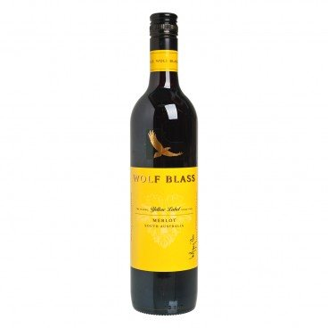 WOLF BLASS Yellow Label Merlot 750ML