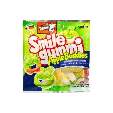 NIMM 2 - Smilegummi Apple Buddies - 90G