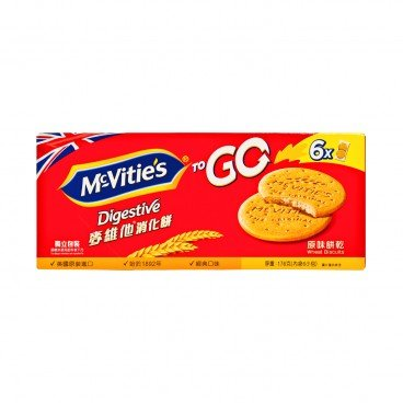MCVITIE'S - To Go Original - 176G