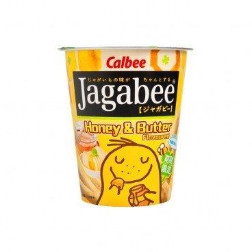 CALBEE Jagabee Potato Chips honey Butter Flavour 38G