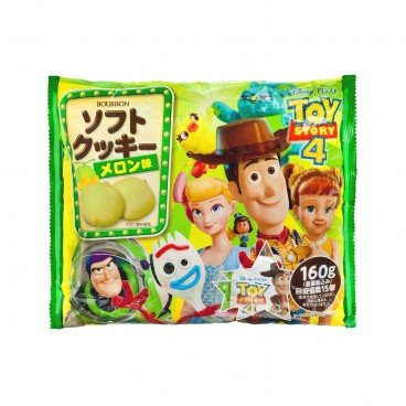 BOURBON Toy Story Melon Softcookies 153G