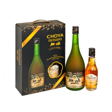 CHOYA Gift Set excellent Umeshu The Single Year SET