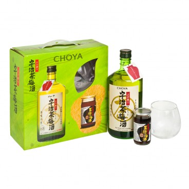 CHOYA Gift Set uji Green Tea Umeshu With Mini Kokuto Umeshu SET