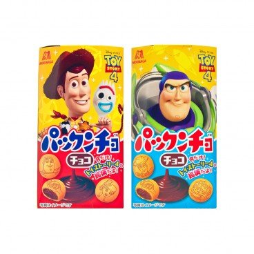 MORINAGA - Disney Biscuits chocolate Random - 47G