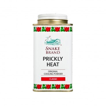 SNAKE BRAND - Prickly Heat Cooling Powder Classic - 140G