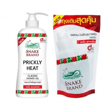 SNAKE BRAND - Shower Gel Classic - 450ML