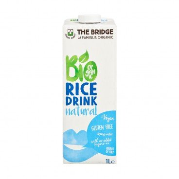 THE BRIDGE - Bio Rice Drink natural - 1L