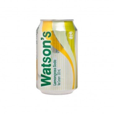 WATSONS Lemongrass Flavoured Soda Water 330ML