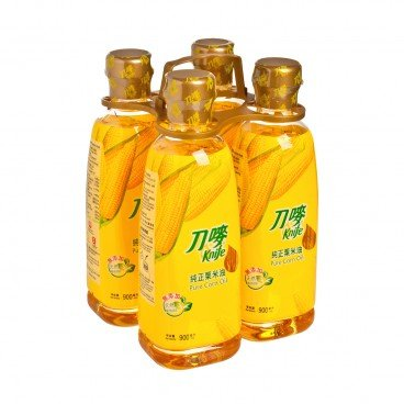 KNIFE - Pure Corn Oil - 900MLX4