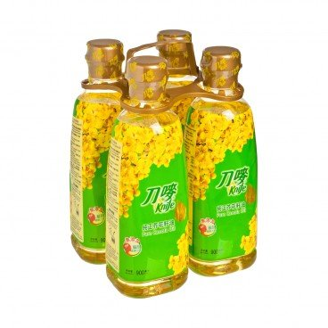 KNIFE Pure Canola Oil 900MLX4