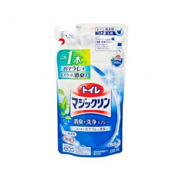 KAO MAGICLEAN - Clean And Deodorizing Spray Pouch refill - 330ML