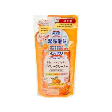 KAO MAGICLEAN - Kitchen Orange Cleaning Foam refill - 250ML