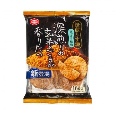 KAMEDA Roasted Salted Thin Rice Cracker 16'S