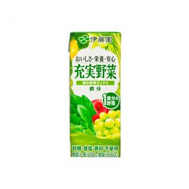 ITOEN - Green Vegetables Mix - 200ML