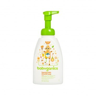 BABYGANICS Dish Bottle Soap Citrus 473ML