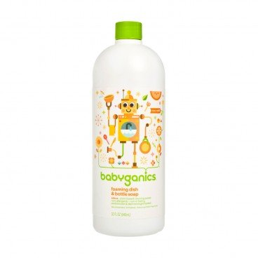 BABYGANICS - Dish Bottle Soap refill Citrus - 946ML