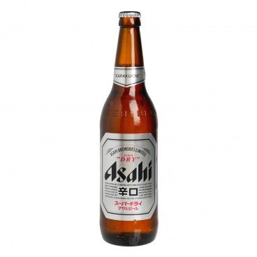 ASAHI - Japanese Beer Bottle - 633ML