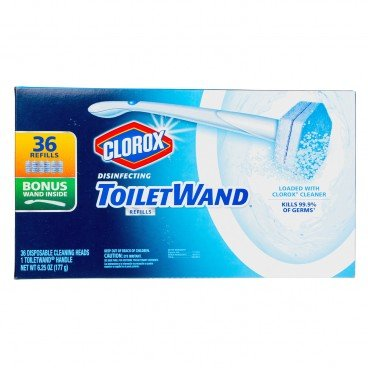 CLOROX - Disposable Toilet Cleaning System - 36'S