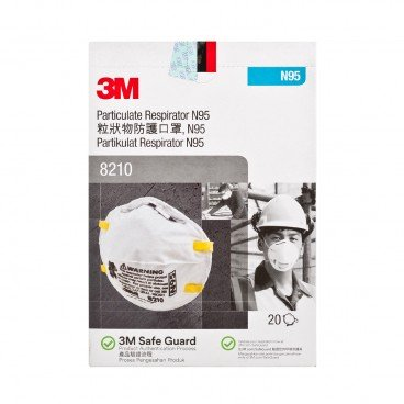 3M - Particulate Respirator N 95 - 20'S