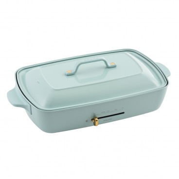 BRUNO Hot Plate Grande Size Blue Gray PC
