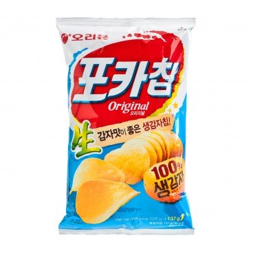 ORION Fresh Potato Chips original 137G