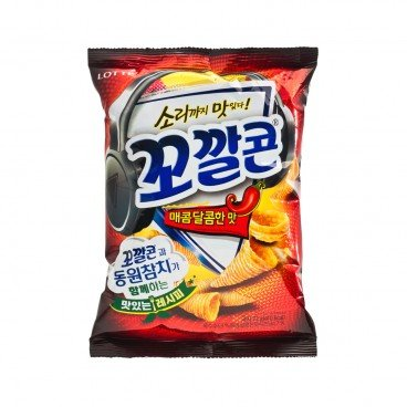 LOTTE Tongari Corn spicy 72G