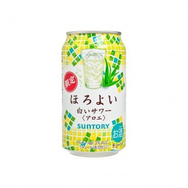 SUNTORY - Horoyoi white Sour Aloe - 350ML