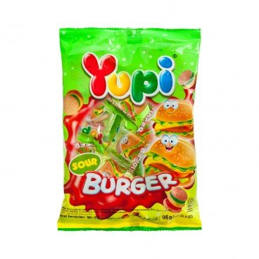 YUPI - Gummi Candy mini Burger sour - 96G