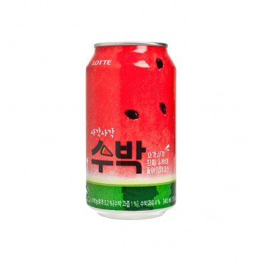 LOTTE - Crushed Watermelon Drinks - 340ML