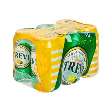 LOTTE Trevi Sparkling Water Lemon 355MLX6