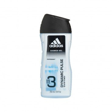 ADIDAS(PARALLEL IMPORT) - Dynamic Pulse 3 in 1 Body Hair And Face Shower Gel - 250ML