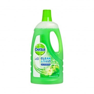DETTOL(PARALLEL IMPORT) - Power fresh Antibacterial Multi purpose Cleaener green Apple - 1L