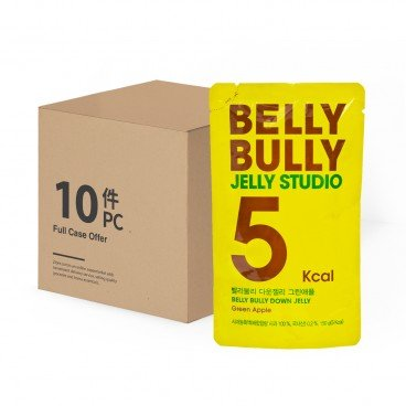 BELLY BULLY Jelly Green Apple 10 pc 150GX10