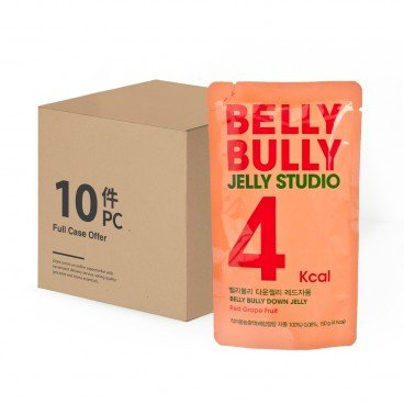 BELLY BULLY Jelly Red Grapefruit 10 pc 150GX10